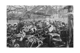 Ruins of the Renault Factory, Boulogne-Billancourt, Paris, C1942 Giclee Print