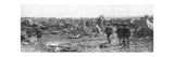 British Soldiers Exploring the Ruins of Albert, Somme, France, 22 August 1918 Giclee Print