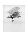 Otto Lilienthal Makes One of His Last Flights, 1896 Giclee Print