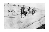 Turkish Soldiers Leaving Mosul, Mesopotamia, Wwi, 1918 Giclee Print