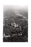 Aerial View of St Paul's Cathedral, London, from a Zeppelin, 1931 Giclee Print