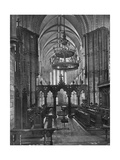 Interior of Christ Church Cathedral, Dublin, Ireland, 1924-1926 Giclee Print by  Valentine & Sons