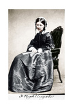 Florence Nightingale, English Nurse and Hospital Reformer, 1854 Giclee Print