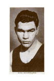 Max Schmeling, German Boxer, 1938 Giclee Print