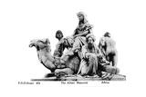 Africa, the Albert Memorial, London, 20th Century Giclee Print