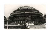 South Entrance of the Royal Albert Hall, London, Early 20th Century Giclee Print