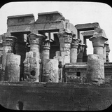 Temple of Kom Ombo, Egypt, C1890 Photographic Print by  Newton & Co