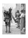 A Soldier from the British Indian Army, France, C1915 Giclee Print