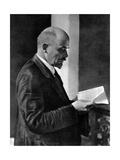 Vladimir Ilich Lenin, Russian Bolshevik Leader, Moscow, Russia, July 1920 Giclee Print