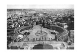 Rome as Seen from the Cupola of St Peter's, 1926 Giclee Print