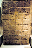 Mayan Lintel Listing the Nine Generations of Rulers at Yaxchilan, 450-550 Photographic Print