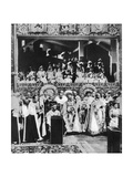 The Coronation of King George V, Westminster Abbey, 22 June 1911 Giclee Print