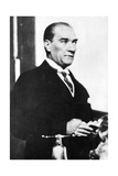 Mustafa Kemal Ataturk (1881-193), Turkish Statesman Giclee Print