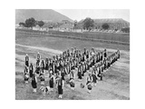 West Indian Band, Up-Park-Camp, Jamaica, C1905 Giclee Print by Adolphe & Son Duperly