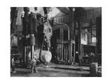 Steel Production, Krupp Factory, Essen, Germany, World War I, 1917 Giclee Print