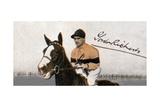 Sir Gordon Richards (1904-198), Jockey, 1935 Giclee Print