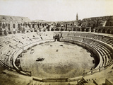 Roman Amphitheatre, Nimes, France, Late 19th or Early 20th Century Photographic Print