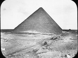 The Great Pyramid of Khufu (Cheop), Giza, Egypt, C1890 Photographic Print by  Newton & Co