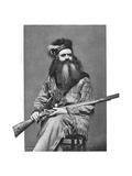 Seth Kinman, American Hunter, 19th Century Giclee Print