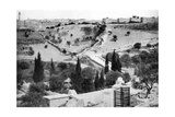 The Garden of Gethsemane and the Holy City of Jerusalem, 1926 Giclee Print