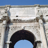 Arch of Constantine, Rome, 4th Century Photographic Print