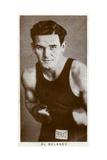 Al Delaney, Canadian Boxer, 1938 Giclee Print