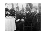Prince George (1865-193), the Future King George V, Corfu, Greece, 1908 Giclée-Druck