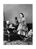 Grand Duchess Maria Alexandrovna and Grand Duke Sergei Alexandrovich of Russia, C1862-C1863 Giclee Print