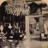 In the Queen's Reception Rooms, Royal Palace, Stockholm, Sweden, 1897 Photographic Print