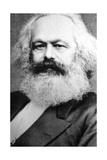 Karl Marx, German Political, Social and Economic Theorist, 19th Century Giclee Print