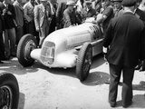 Mercedes-Benz W25 at the French Grand Prix, Montlhery, 1934 Photographic Print
