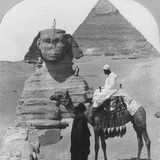 The Great Sphinx of Giza, Egypt, 1899 Photographic Print