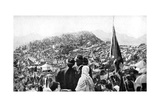 Pilgrims Performing the Wukuf, Mount Arafat, Saudi Arabia, 1922 Giclee Print