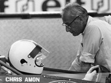 Chris Amon (On the Lef) and David Yorke, 1970S Photographic Print