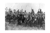 Indian Cavalry after their Charge, Somme, France, First World War, 14 July 1916 Giclee Print