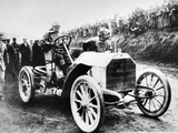 Camille Jenatzy in His 60 Hp Mercedes, Winner of the Gordon Bennett Race, Athy, Ireland, 1903 Photographic Print
