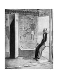 On the Threshold of a Voodoo Temple, Haiti, 1922 Giclee Print