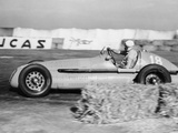 Luigi Villoresi Winning the British Grand Prix, Silverstone, October 1948 Photographic Print