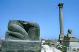 Pompey's Pillar, Alexandria, Egypt Photographic Print