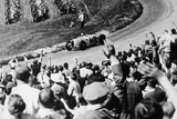 Bernd Rosemeyer Acclaimed by the Crowd, German Grand Prix, Nurburgring, 1936 Photographic Print