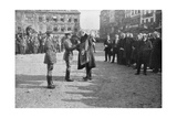 Lille Being Liberated by the British 5th Army, France, 17 October 1918 Giclee Print