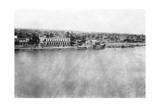The Tigris River from the 31st British General Hospital, Baghdad, Mesopotamia, WWI, 1918 Giclee Print