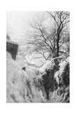 French Trenches on the Piave River, Italian Front, December 1917 Giclee Print
