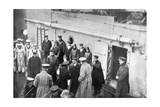 Admiral Jellicoe's Farewell to Lord Kitchener, First World War, 1914-1916 Giclee Print