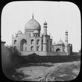 Taj Mahal, Agra, Uttar Pradesh, India, Late 19th or Early 20th Century Photographic Print