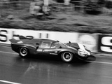 An Aston Martin Lola at Le Mans, France, 1967 Reproduction photographique