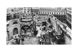 Bank, as Seen from the Roof of the Royal Exchange, London, 1926-1927 Giclee Print by  Joel