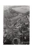 Aerial View of Trafalgar Square, London, from a Zeppelin, 1931 Giclee Print
