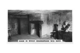 Room in Which Shakespeare Was Born, (C1920) Giclee Print