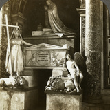 Tomb of Pope Clement XIII, St Peter's Basilica, Rome, Italy Photographic Print by  Underwood & Underwood